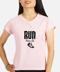 run hebrews.png Peformance Dry T-Shirt