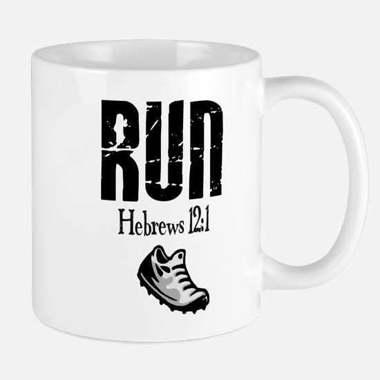 run hebrews.png Mug