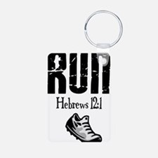 run hebrews.png Keychains