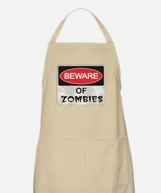 Beware of Zombies Apron