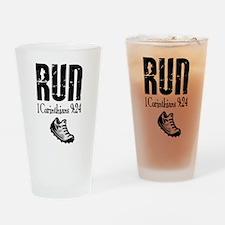 run fixed Drinking Glass