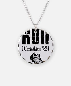 run fixed Necklace