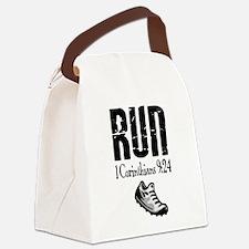 run fixed Canvas Lunch Bag