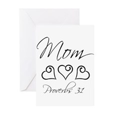 script mom.png Greeting Card