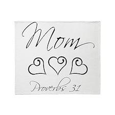 script mom.png Throw Blanket