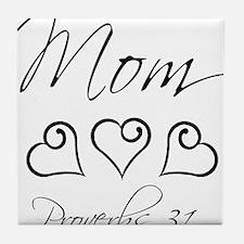 script mom.png Tile Coaster