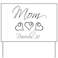 script mom.png Yard Sign