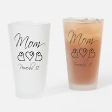 script mom.png Drinking Glass