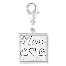 script mom.png Silver Square Charm