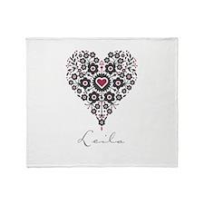 Love Leila Throw Blanket