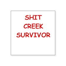 shit creek Sticker