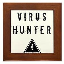 Virus Hunter Framed Tile