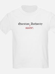Question Draven Authority Kids T-Shirt
