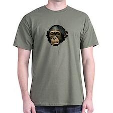 Chimp Face T-Shirt