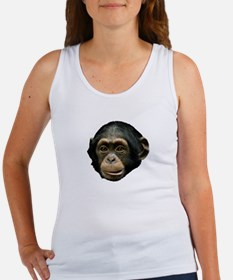 Chimp Face Women's Tank Top