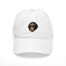 Chimp Face Baseball Cap