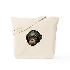 Chimp Face Tote Bag