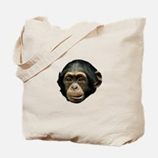 Chimp Face Tote Bag