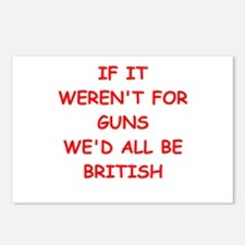 guns Postcards (Package of 8)