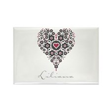 Love Liliana Rectangle Magnet