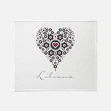 Love Liliana Throw Blanket