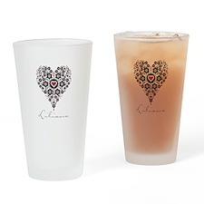 Love Liliana Drinking Glass