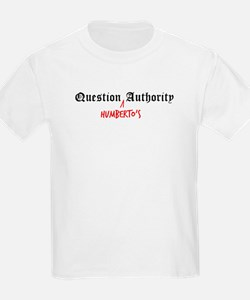 Question Humberto Authority Kids T-Shirt