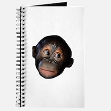 Baby Orangutan Face Journal