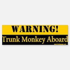 Original Trunk Monkey Bumper Bumper Bumper Sticker
