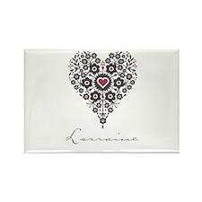 Love Lorraine Rectangle Magnet (100 pack)