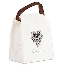 Love Lorraine Canvas Lunch Bag
