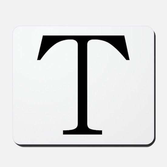 Greek Character Tau Mousepad