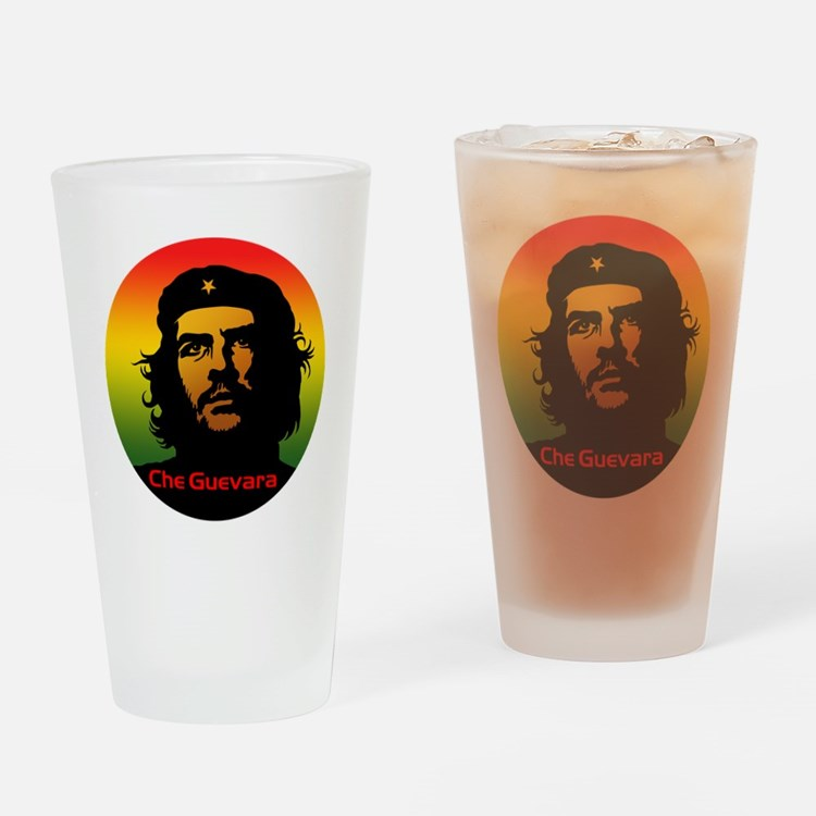 Guevara 2 Drinking Glass