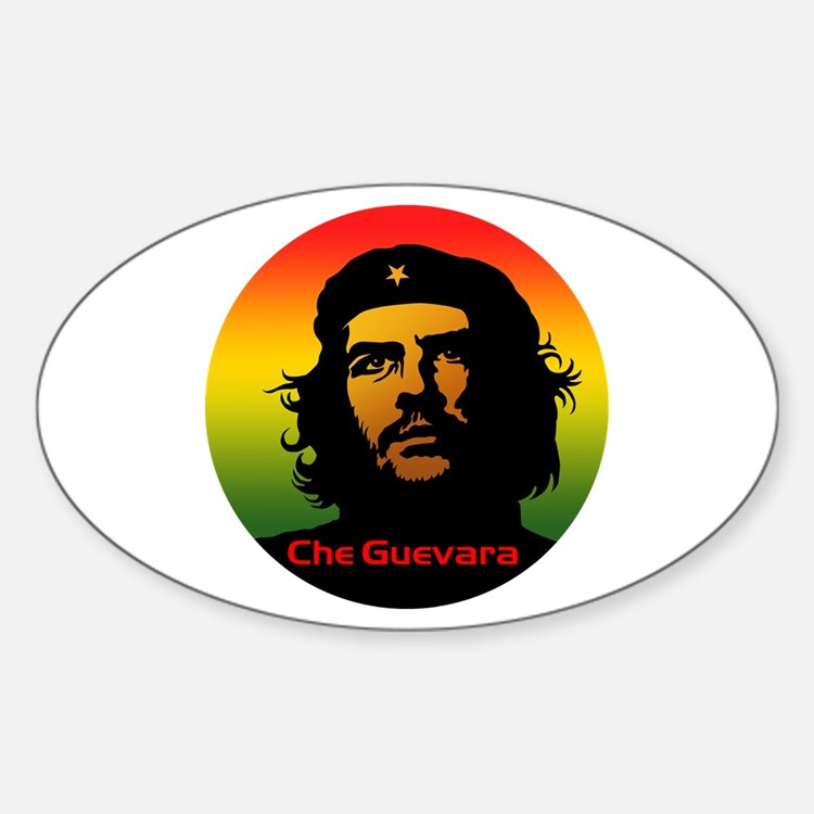 Guevara 2 Sticker (Oval)