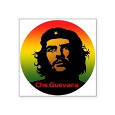 "Guevara 2 Square Sticker 3"" x 3"""