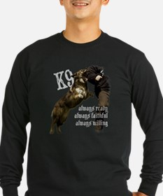 K9 Always ready Long Sleeve T-Shirt
