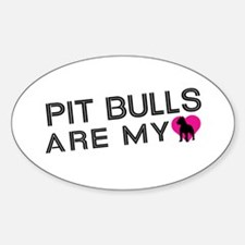 Pit Bulls Are My Love Decal