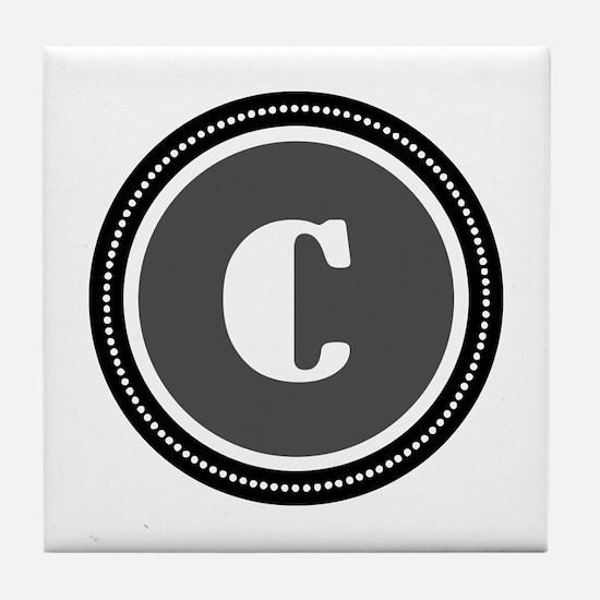 Gray Tile Coaster