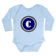 Blue Long Sleeve Infant Bodysuit