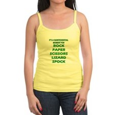 Rock, Paper, Scissors, Lizard, Spock Tank Top