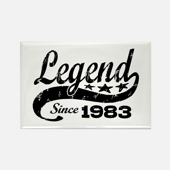 Legend Since 1983 Rectangle Magnet