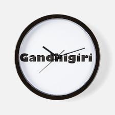 Gandhigiri Wall Clock