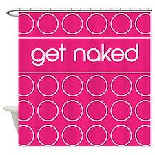 pink dot Shower Curtain