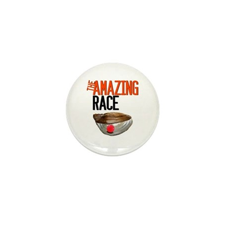 The Amazing Race Pearl Farming Mini Button (10 pac