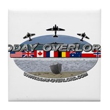 DDay-Overlord.com Tile Coaster