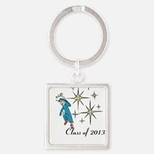 Cute 2013 Square Keychain