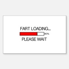 Fart Loading Please Wait Decal