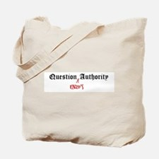 Question Enzo Authority Tote Bag