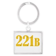 221B Landscape Keychain