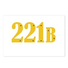 221B Postcards (Package of 8)